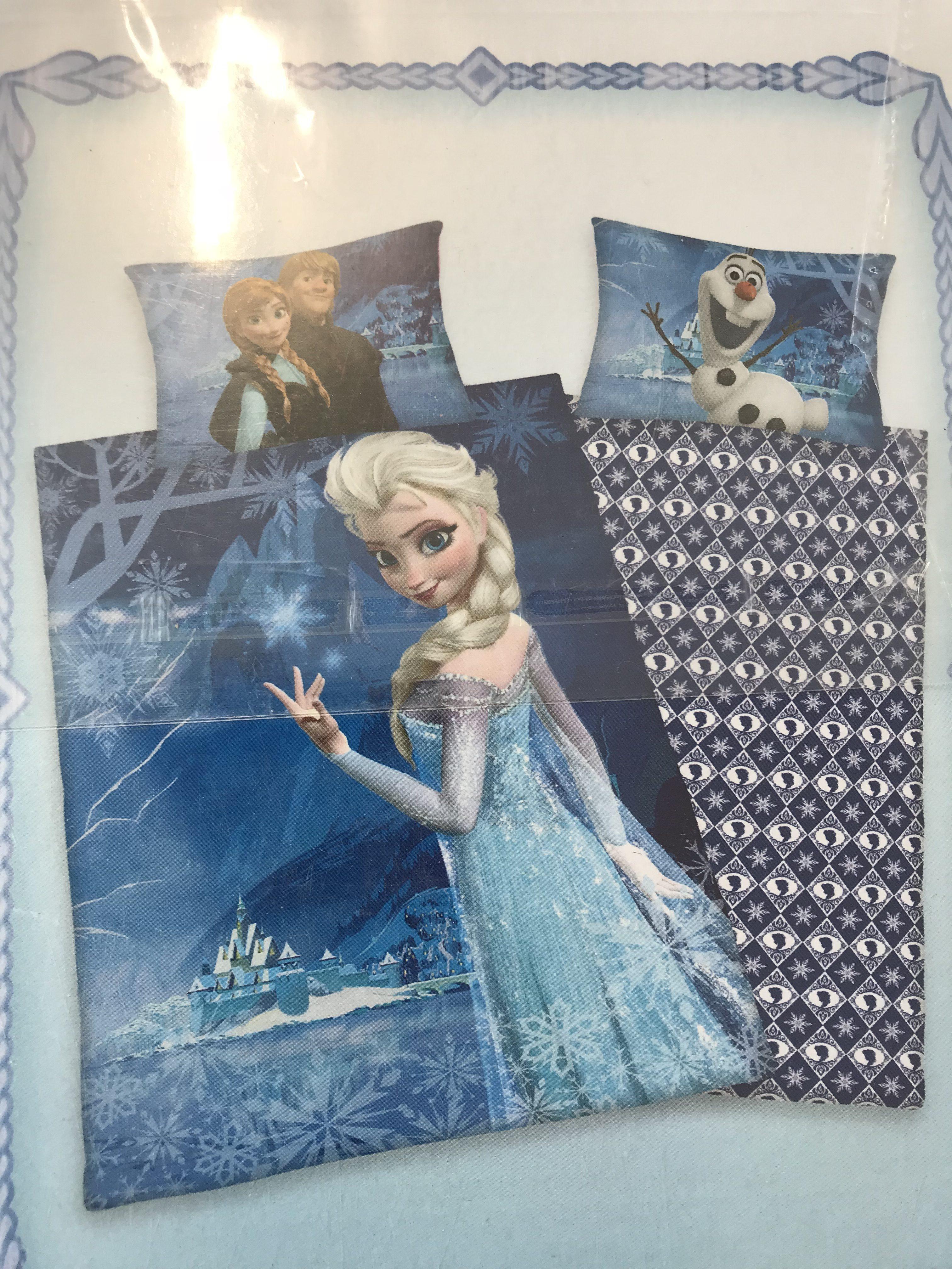 Frozen Anna Elsa Bettwäsche 160 X 210 Cm Gwunderlädeli