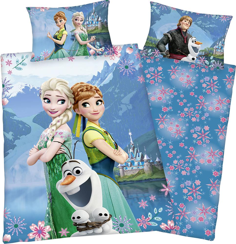 Anna Elsa Die Eiskönigin Frozen Bettwäsche 160 X 210 Cm
